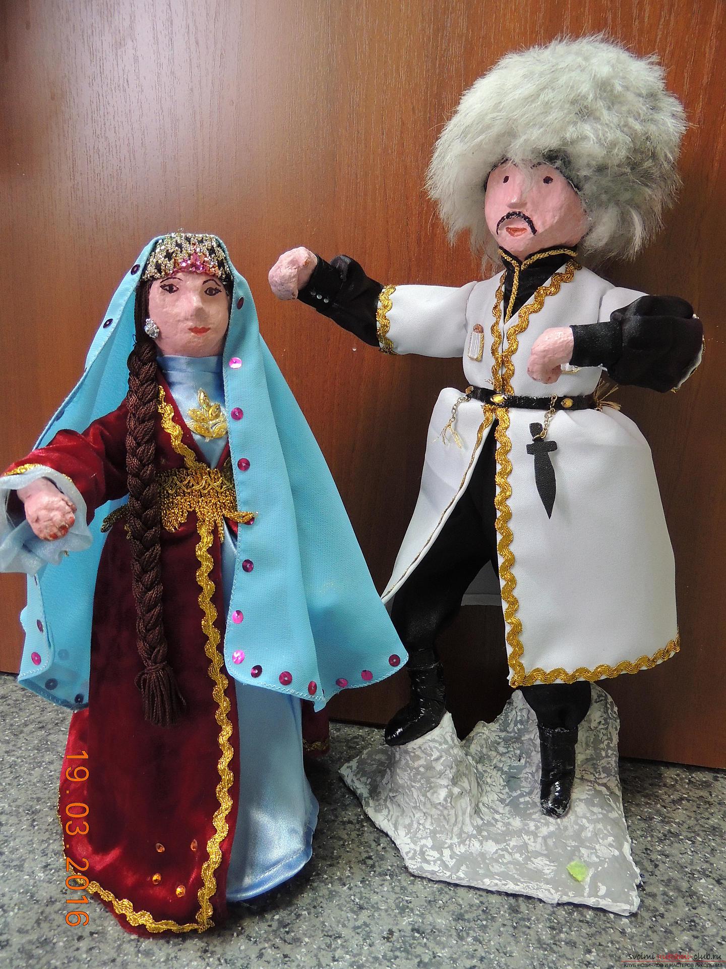 Куклы из папье маше своими руками фото фото 729
