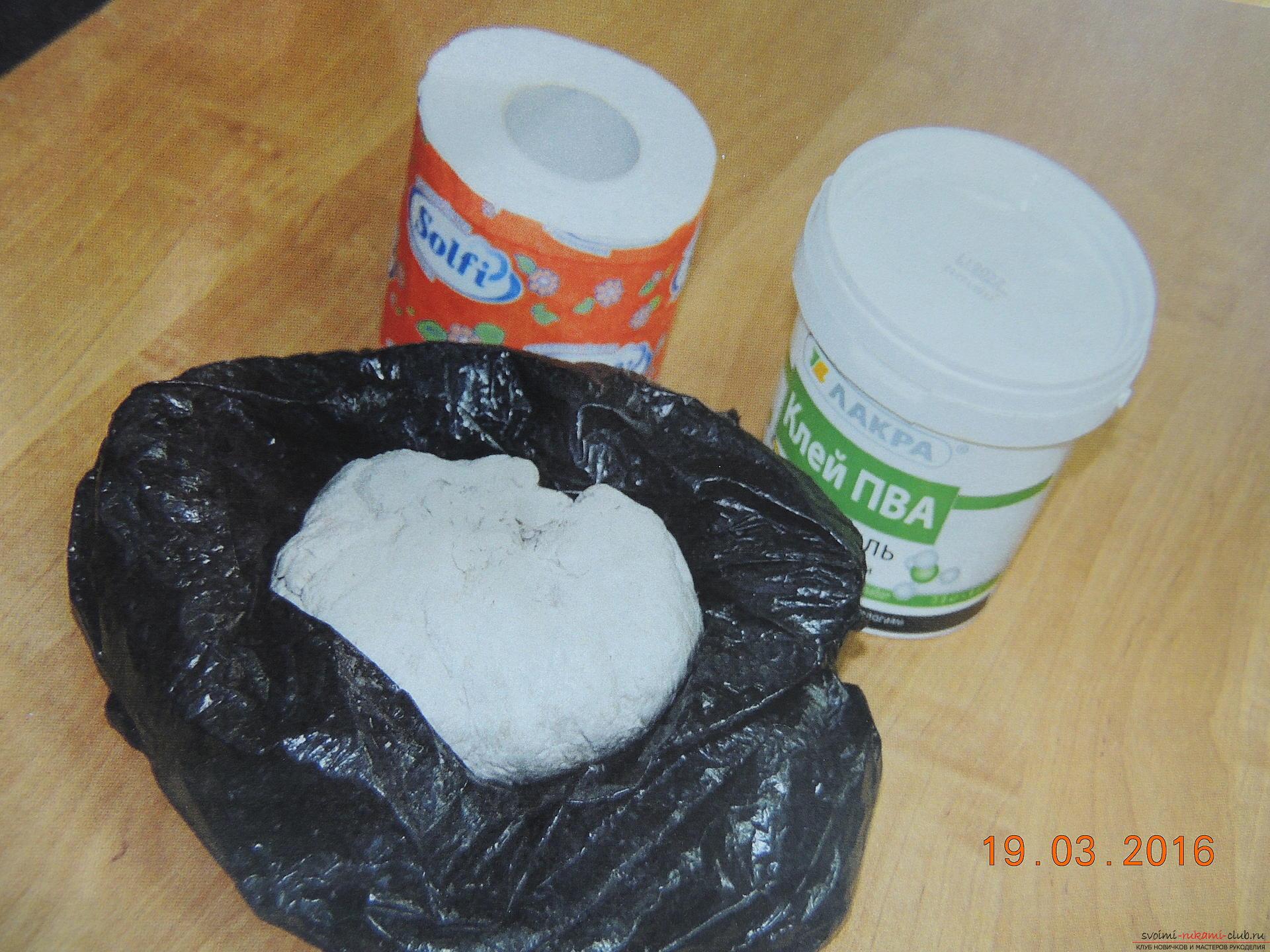 Как дома сделать папье маше