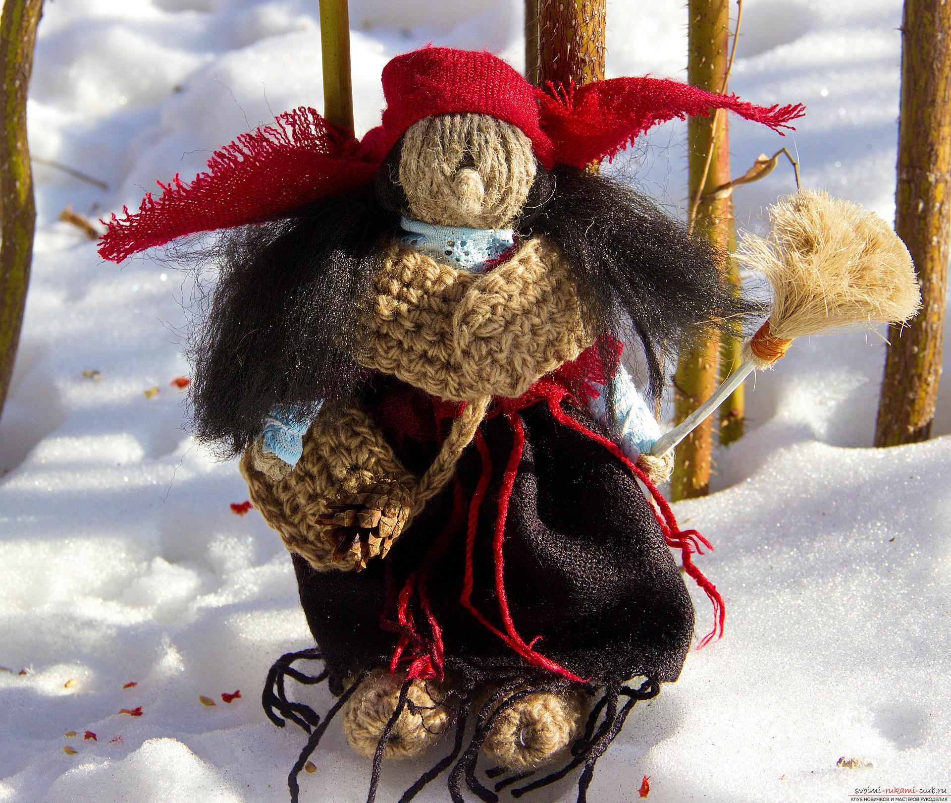 Баба Яга – славянский оберег. Фото №1