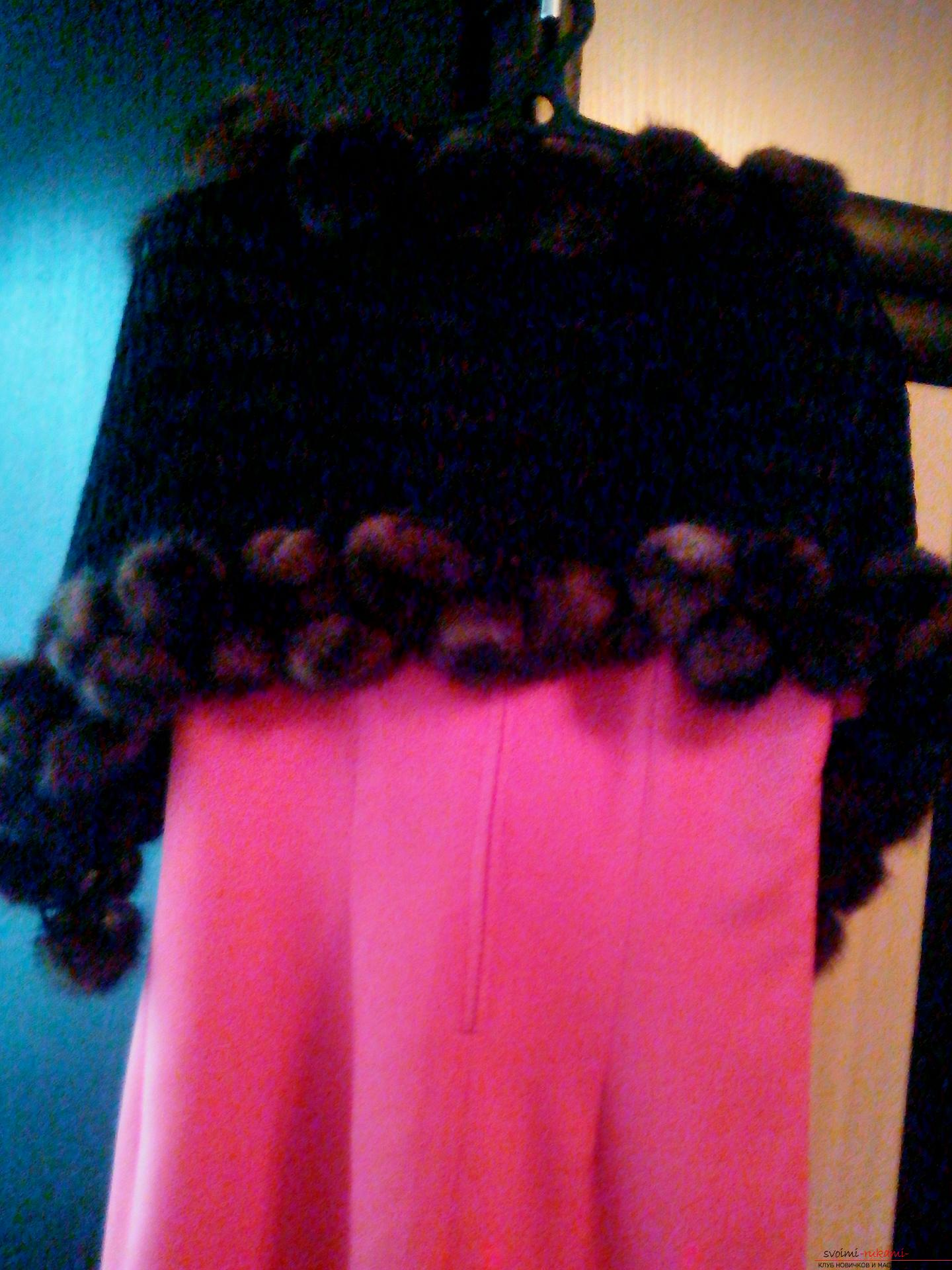 Меховой шарф (88 фото длинные и короткие модели) 61