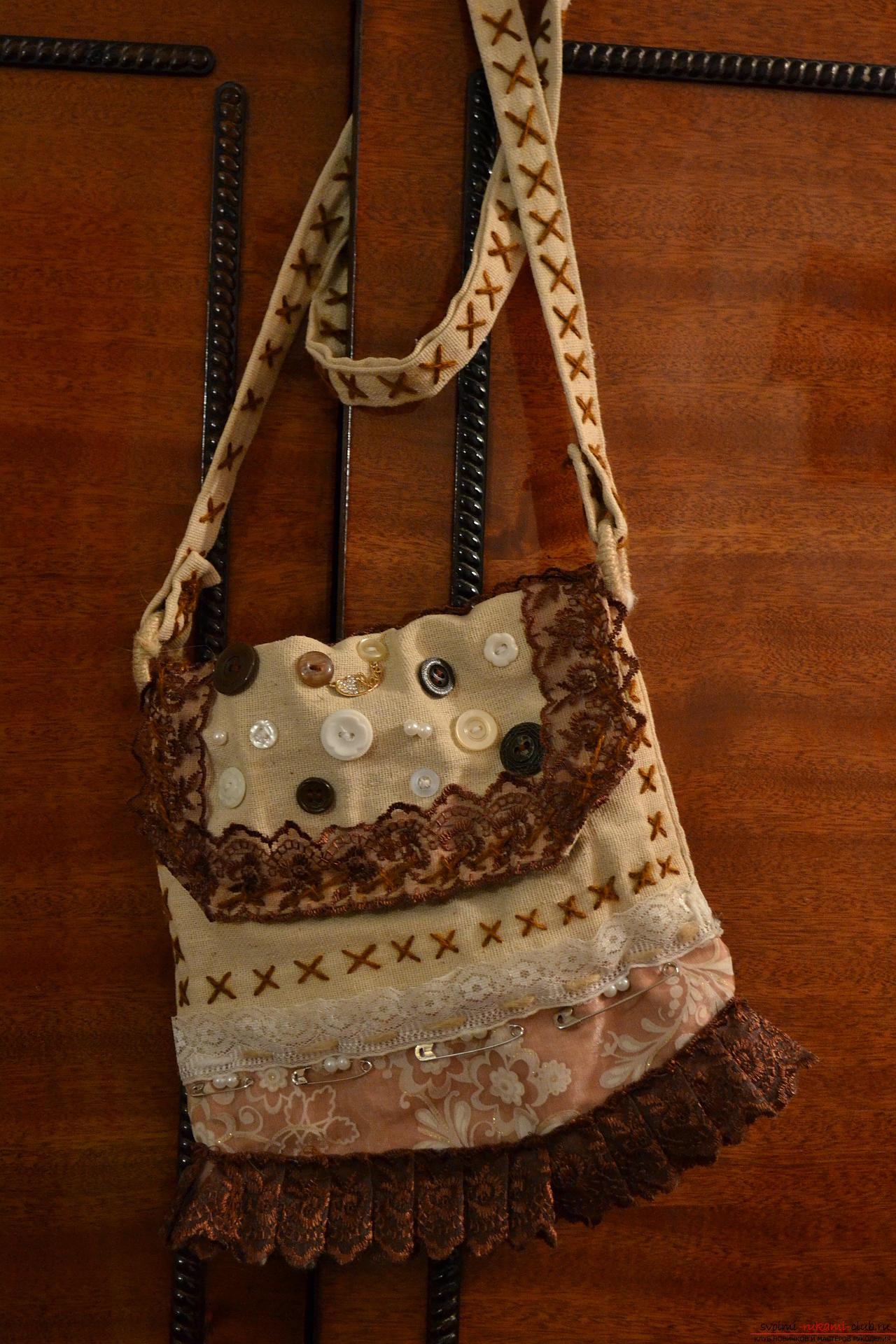 Как украсить сумку своими руками (93 фото декупаж, вышивка и) 63