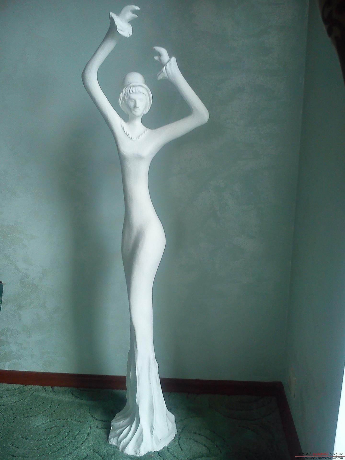 Гипсовые статуи своими руками 96