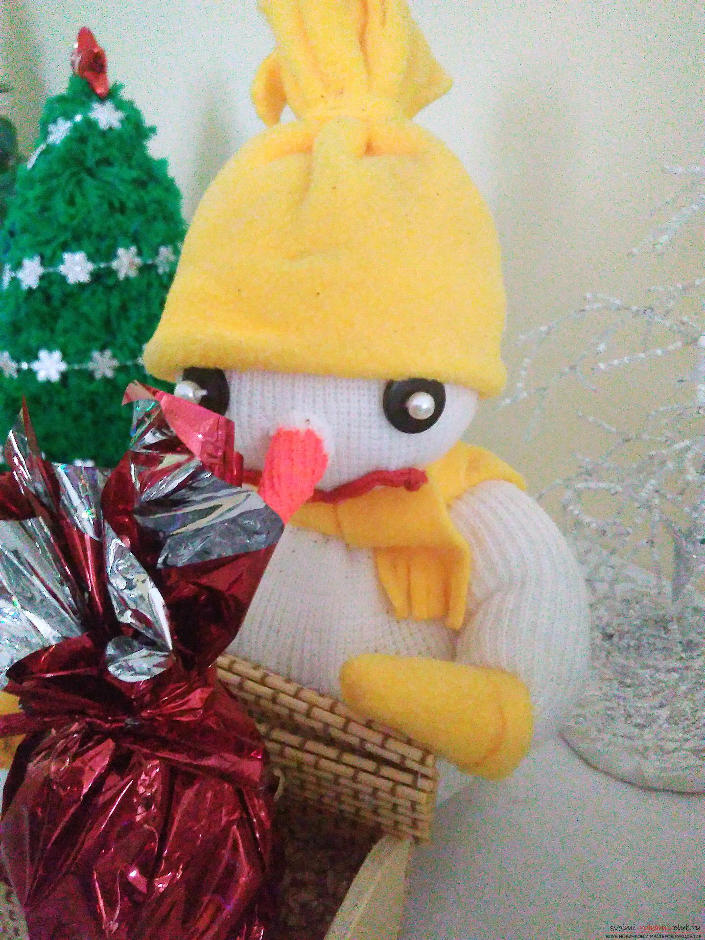 Новогодняя поделка: Снеговик несет подарки на Конкурс с Леонардо