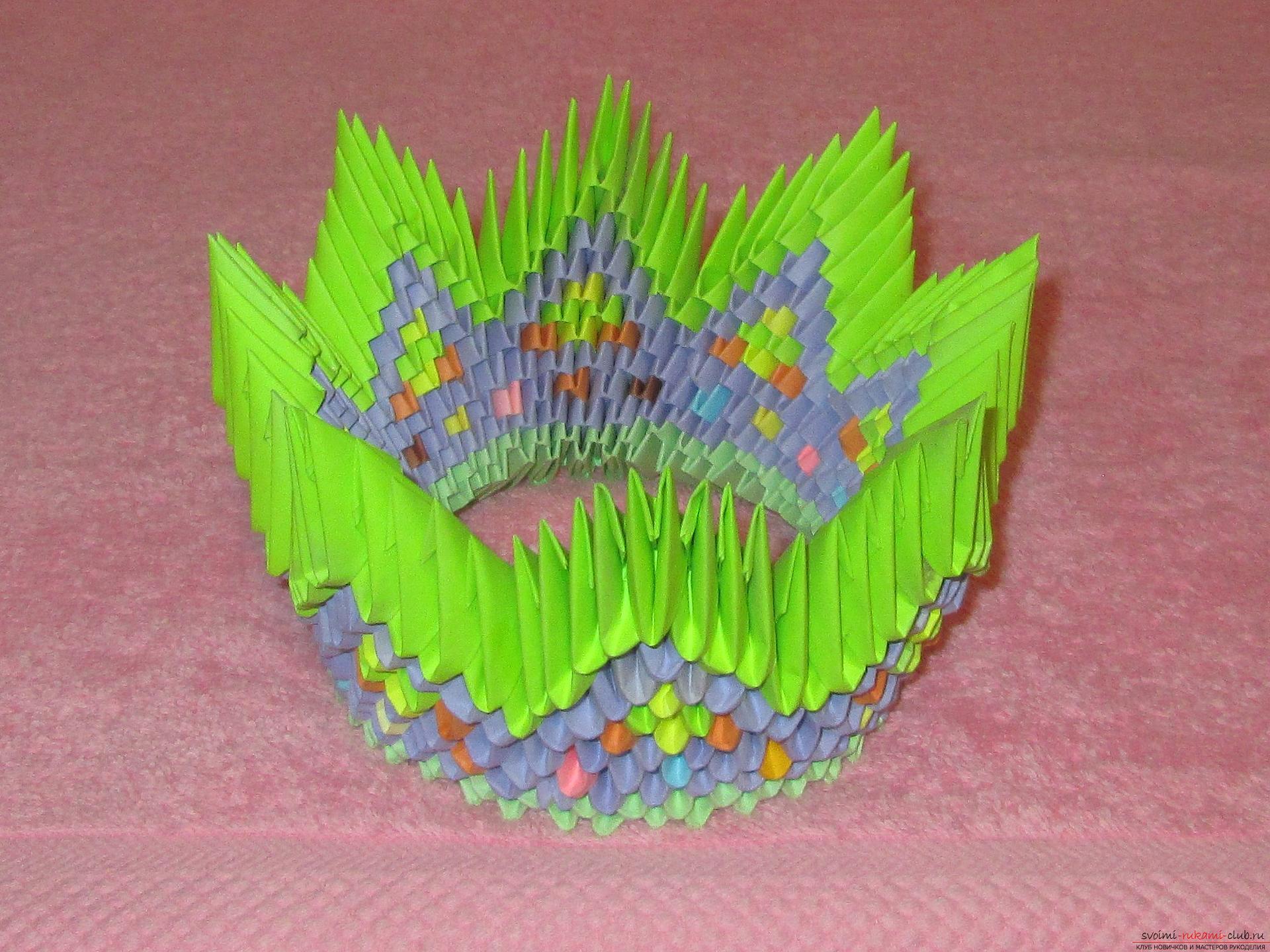 Модульное оригами страна мастеров с описанием