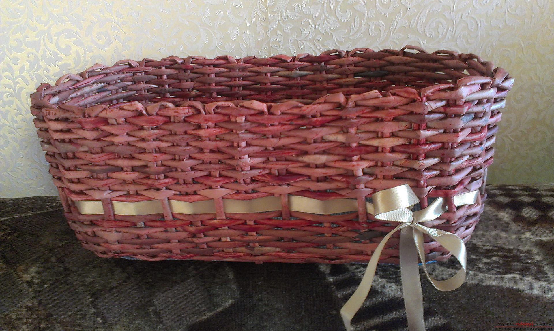 Как сделать плетеные корзины своими руками 397