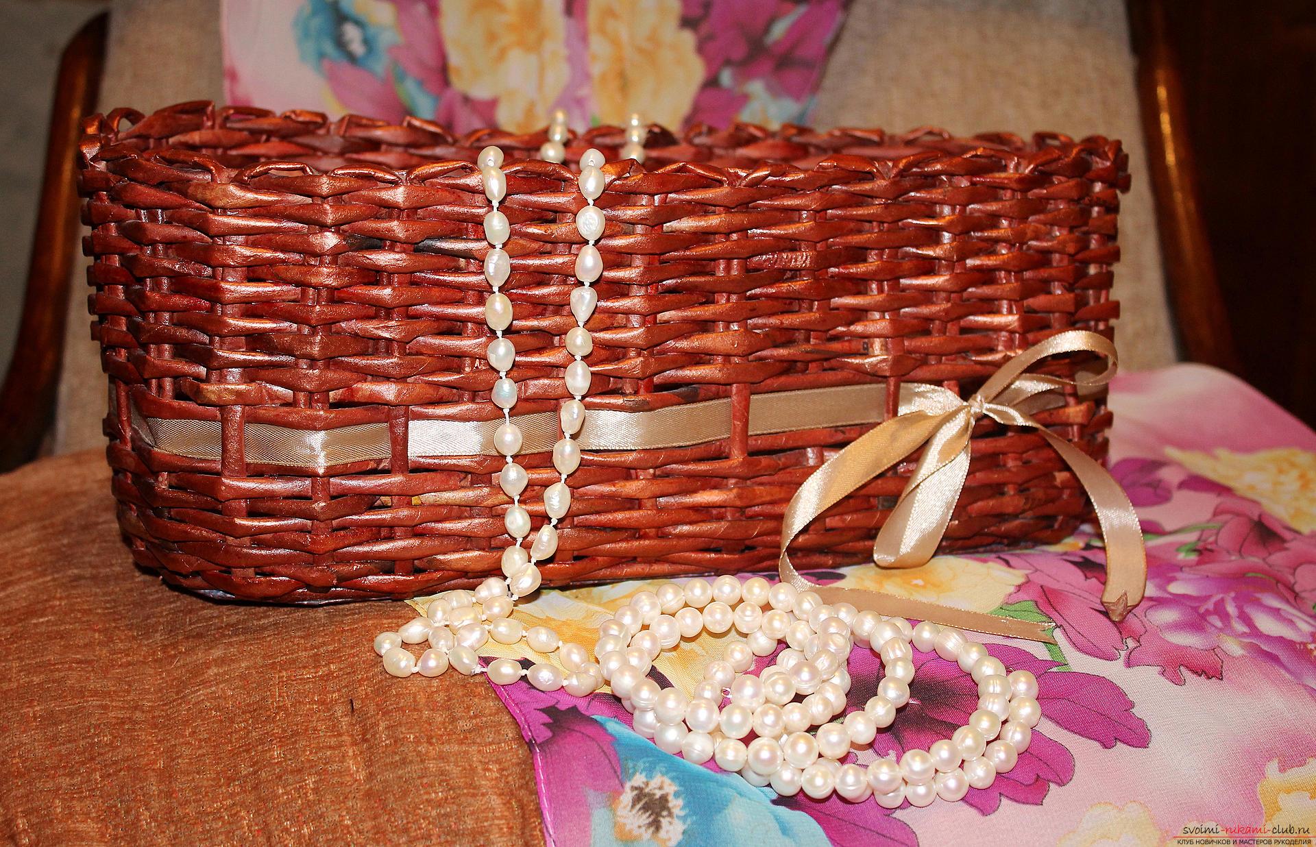 Как сделать плетеные корзины своими руками 137