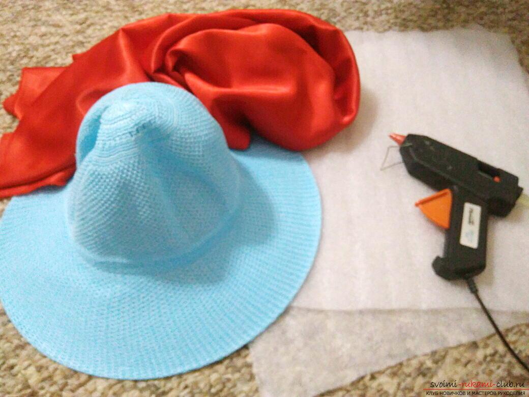 Сшить своими руками шляпу гриба из 69