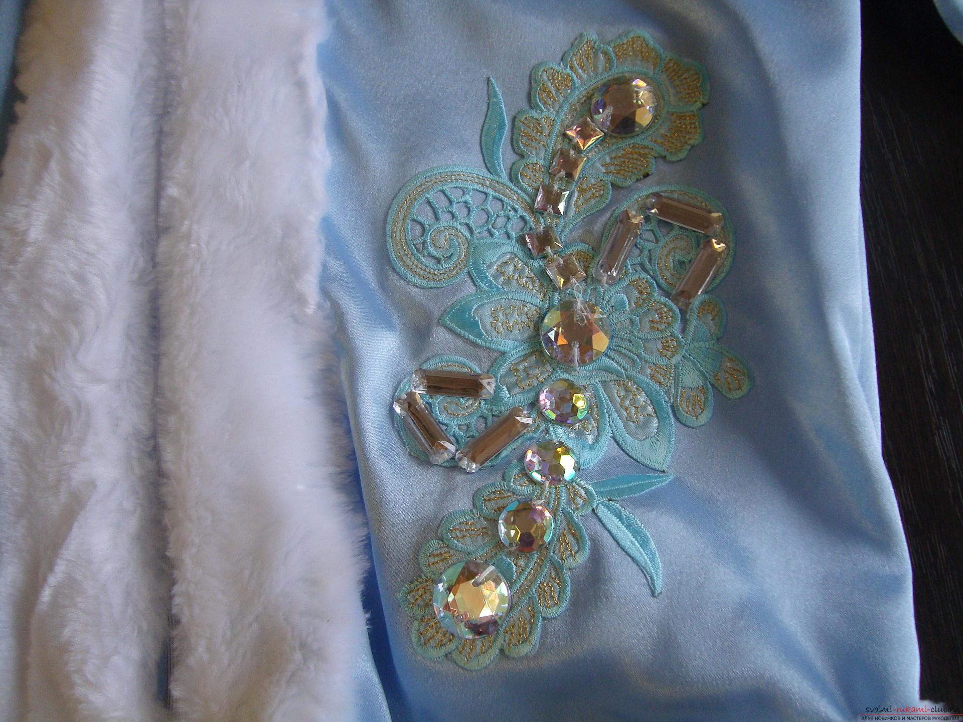 Карнавальные костюмы для девочки мама может сшить своими руками. Костюм Снегурочка понравится многим девочкам.. Фото №17