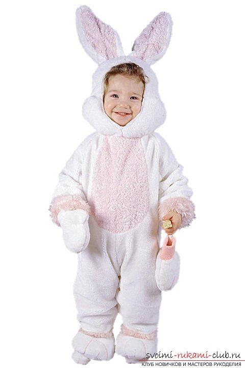 Костюм зайца для мальчиков своими руками