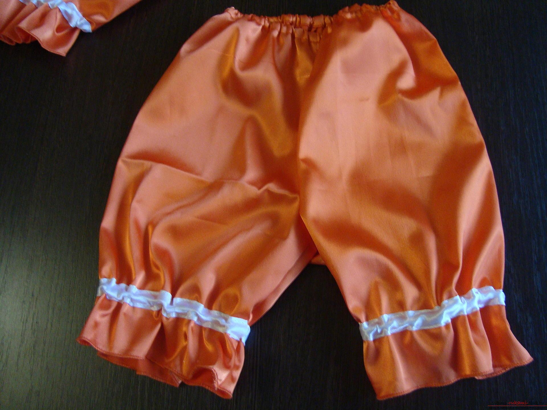 Этот мастер-класс научит как сшить своими руками детский карнавальный костюм лисы для девочки. Фото №13
