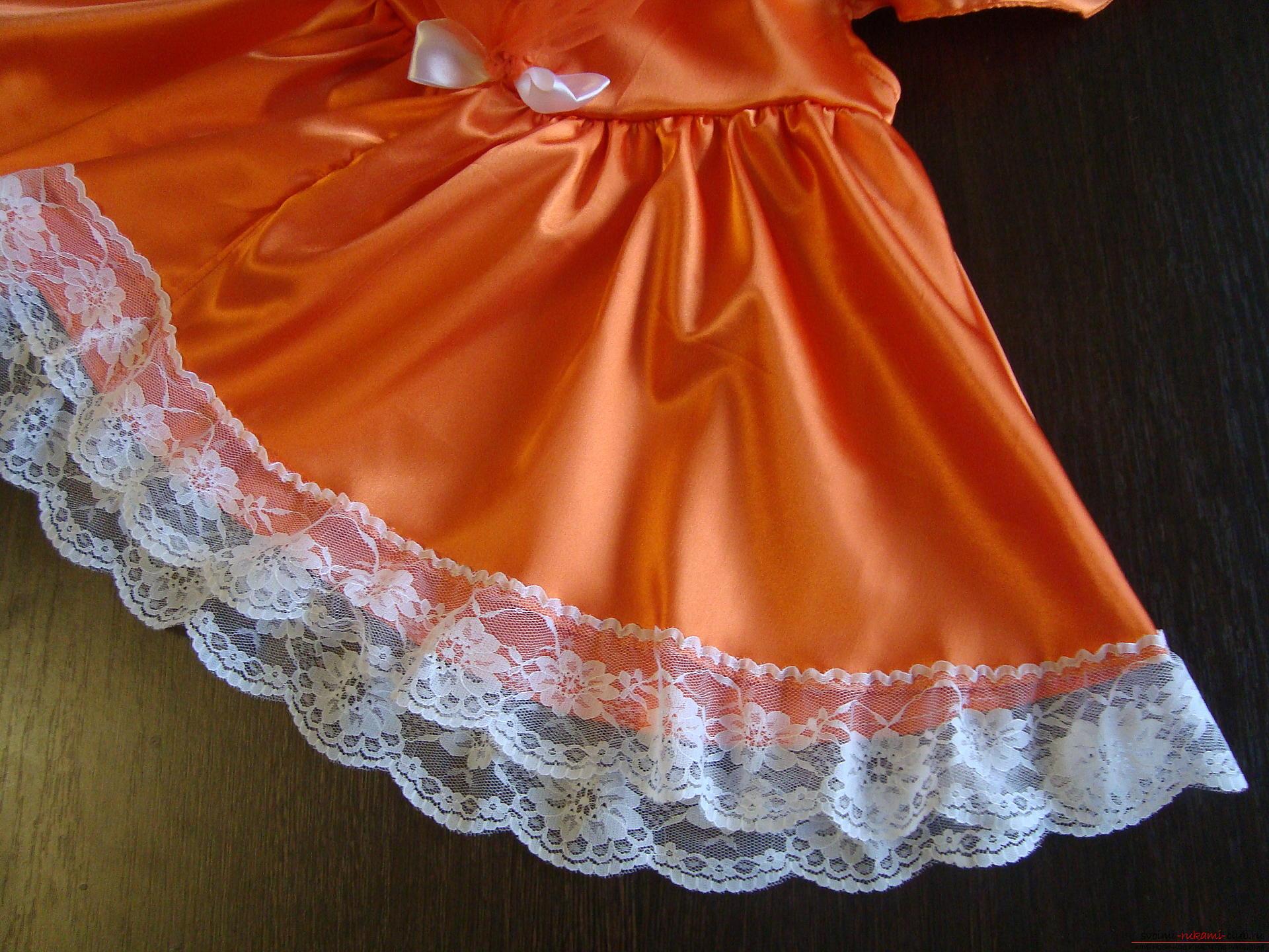 Этот мастер-класс научит как сшить своими руками детский карнавальный костюм лисы для девочки. Фото №7