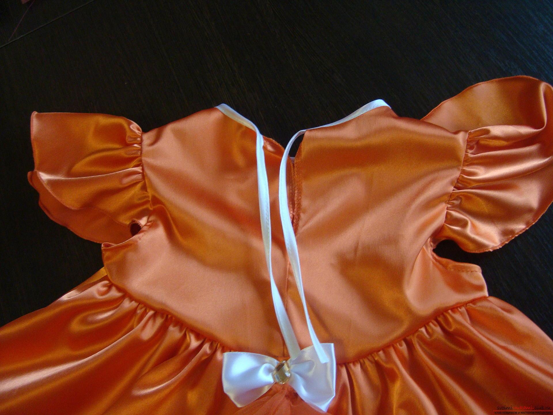 Этот мастер-класс научит как сшить своими руками детский карнавальный костюм лисы для девочки. Фото №6