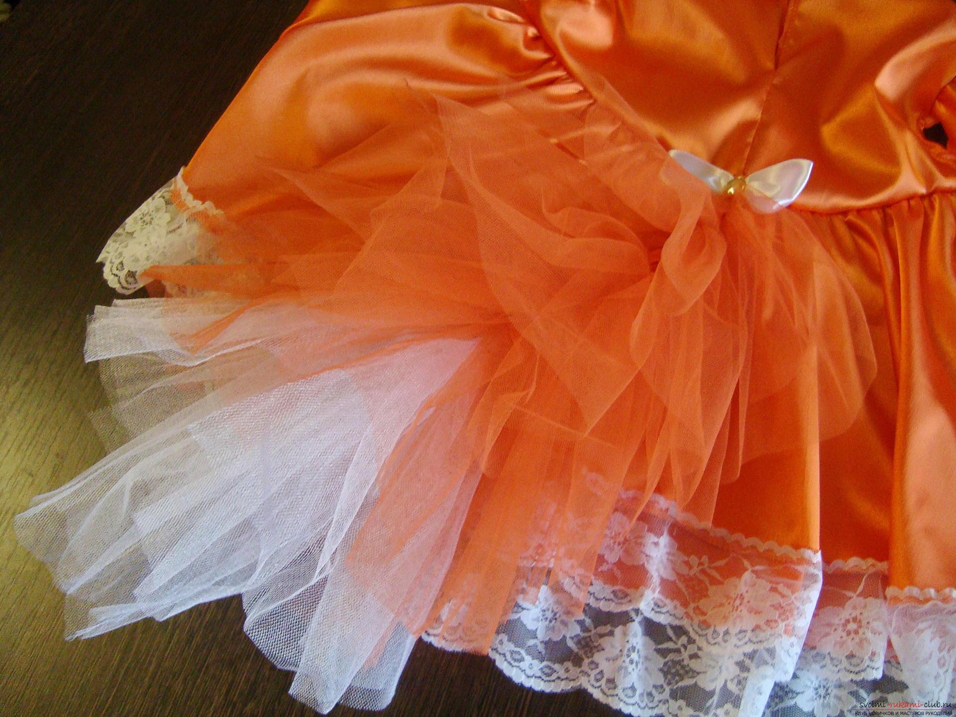 Этот мастер-класс научит как сшить своими руками детский карнавальный костюм лисы для девочки. Фото №8