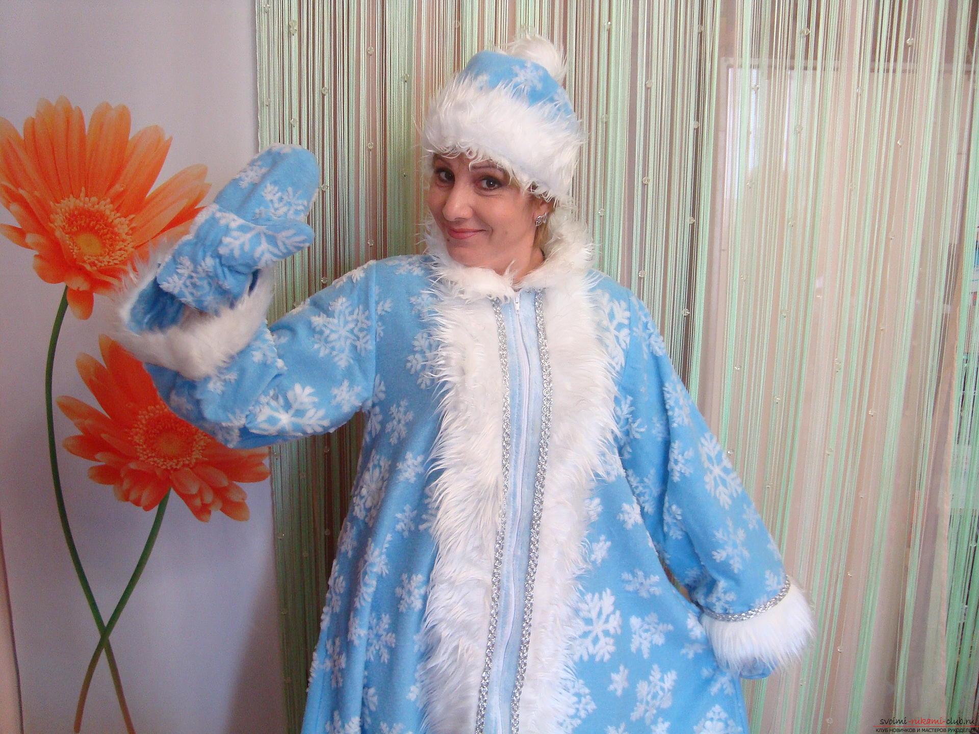 Фото красивых девушек в костюме снегурочки 15 фотография