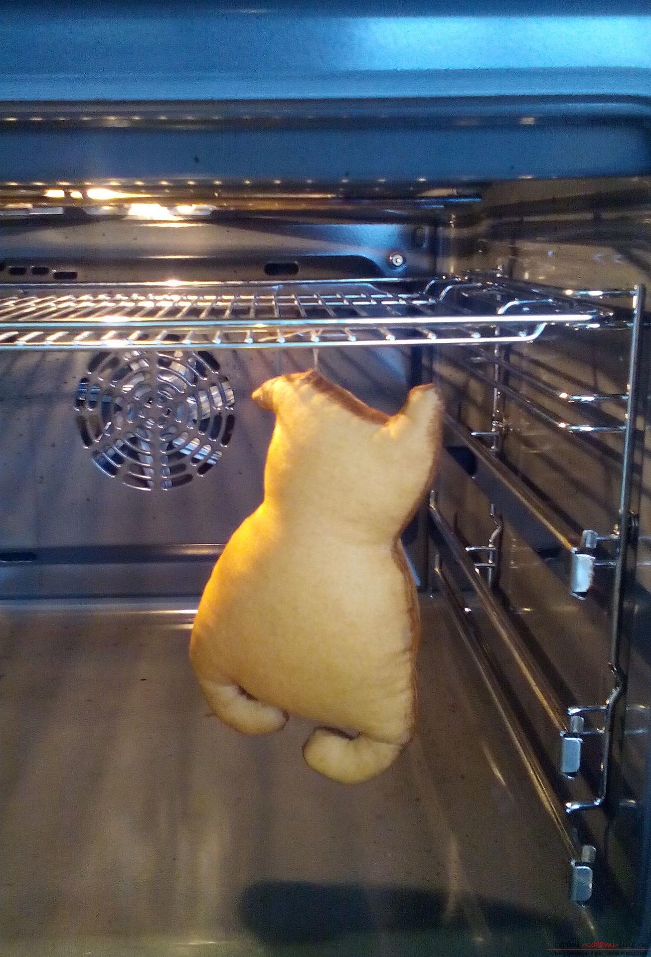 Этот мастер-класс содержит выкройку игрушки-примитива - мягкого кота Лакомки.. Фото №16