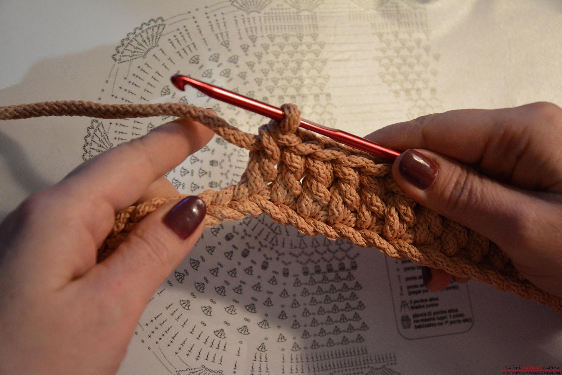 Вязание шнура крючком фото