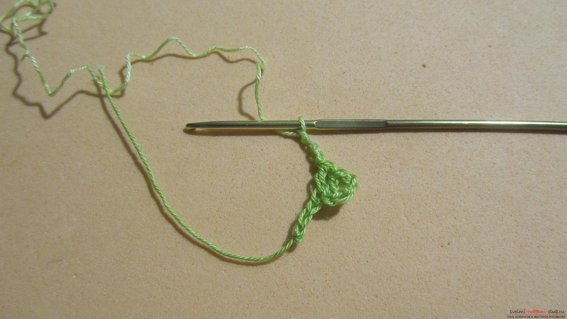 Этот мастер-класс со схемой и описанием вязания крючком научит вязать кружево с сердечками.. Фото №4