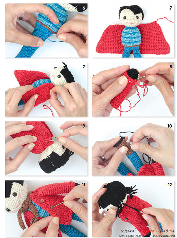 Как научится вязать крючок кукле