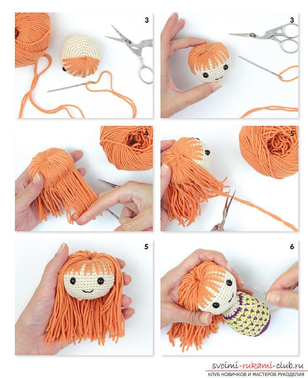 Вязание крючком куколки амигуруми описание 38