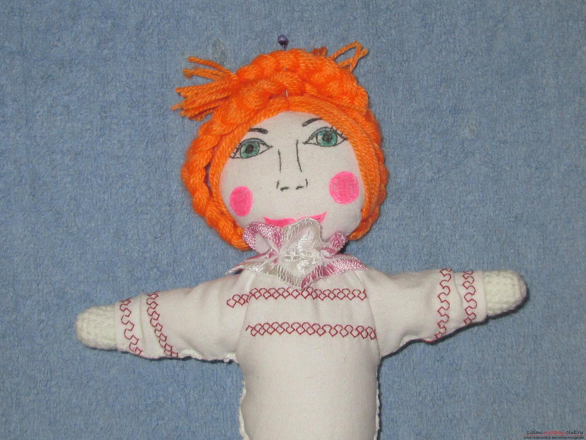 Кукла своими руками из ткани на масленицу своими руками