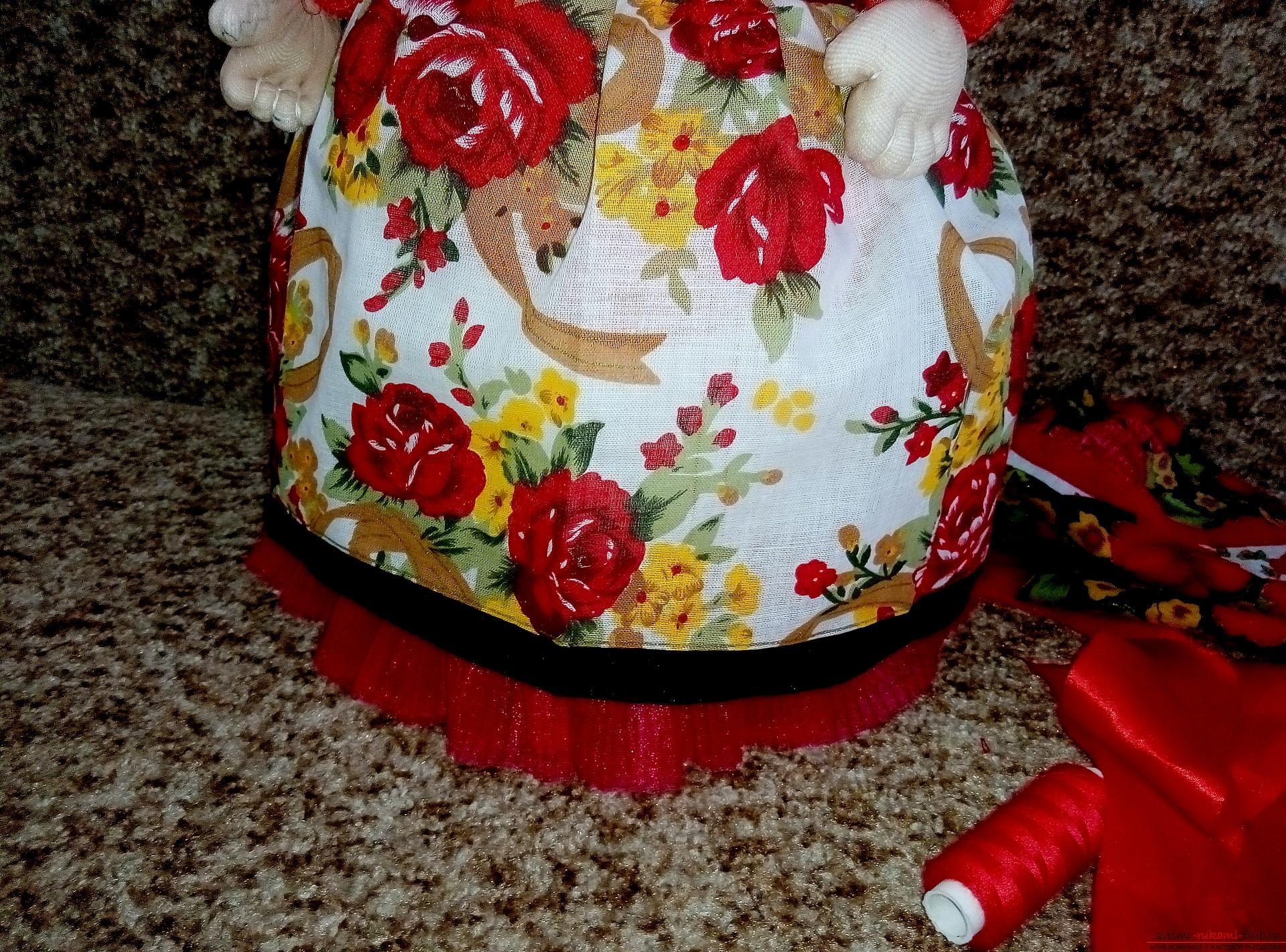 Куклы на заварочный чайник своими руками 63