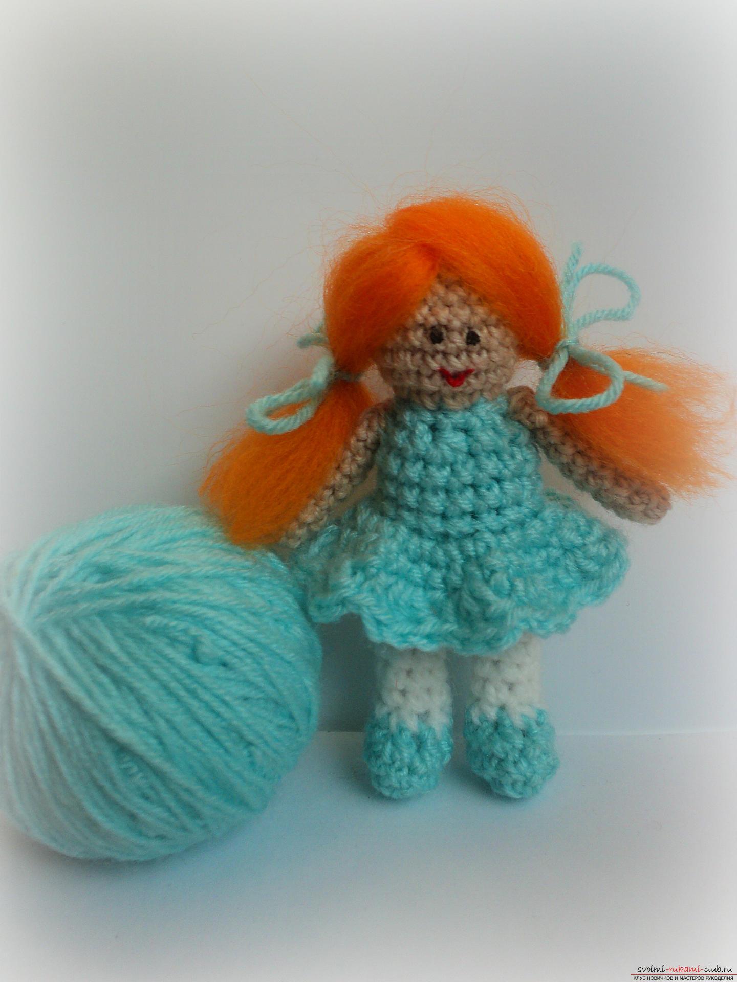 Вязание игрушек крючком кукол 100