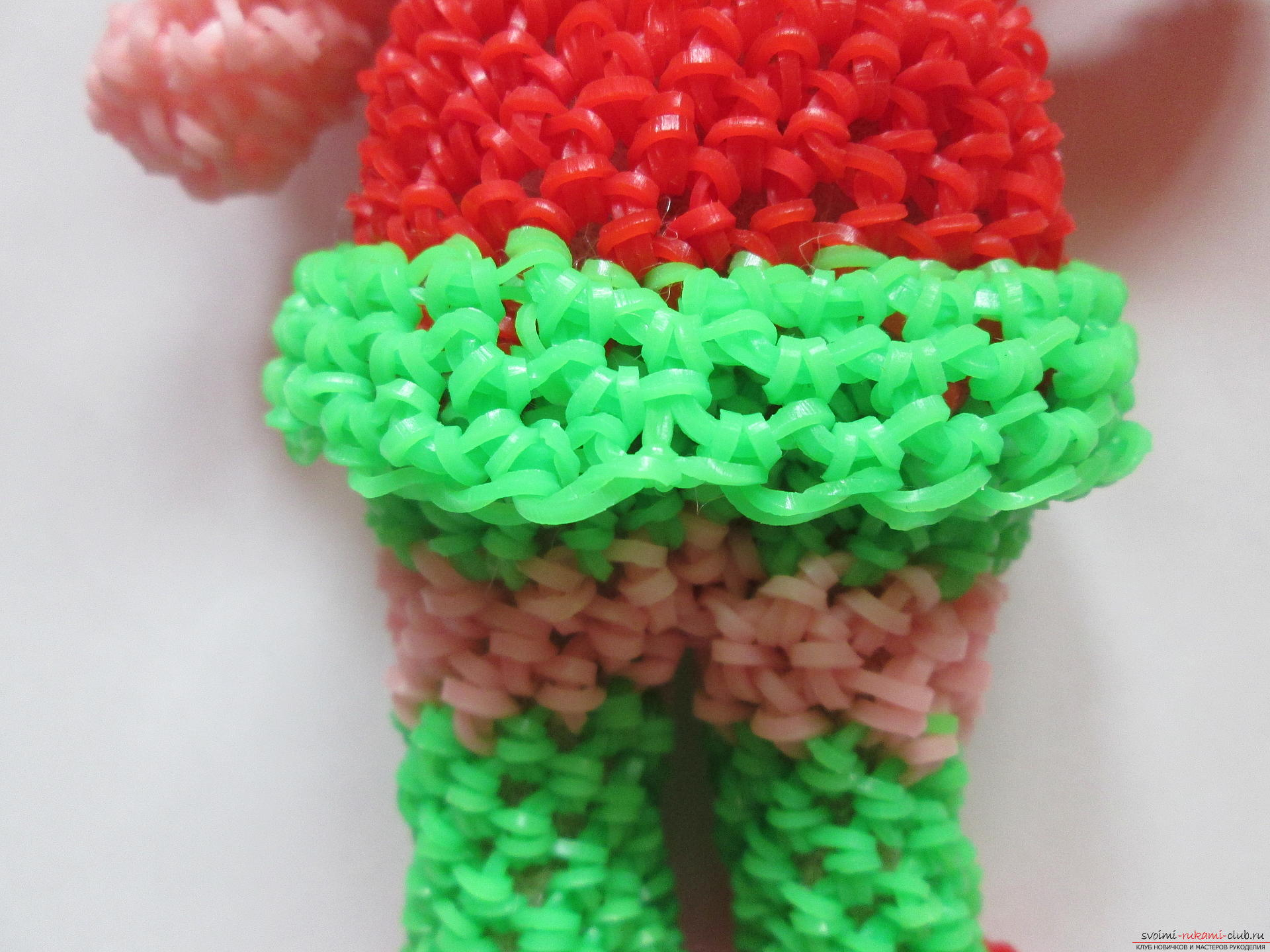 Плетение из резинок пошаговое фото фигурки