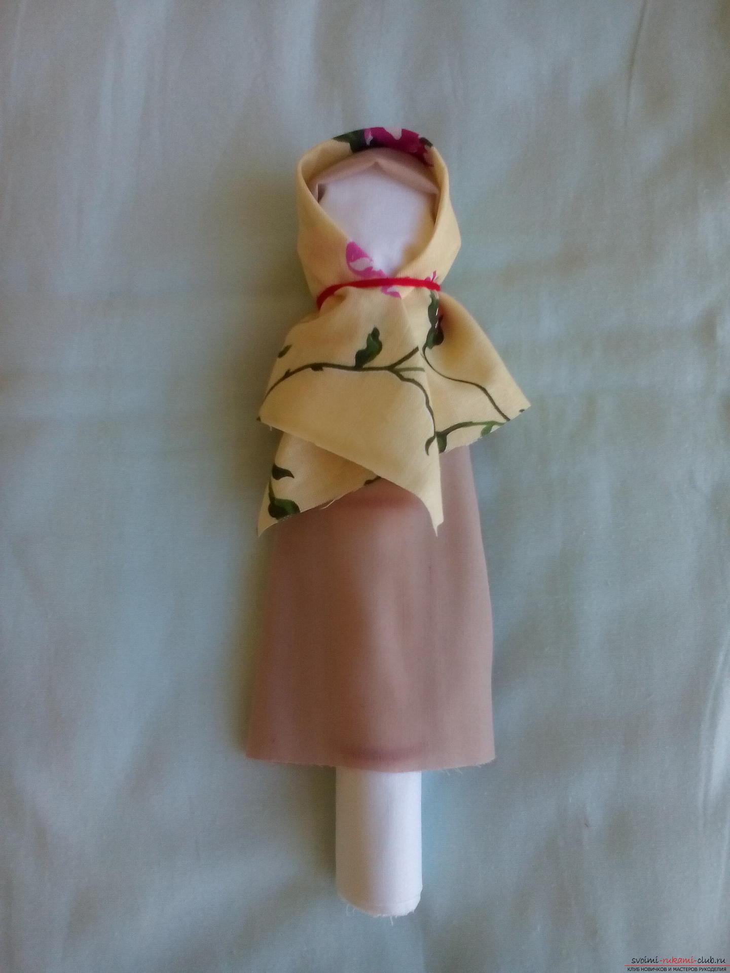 Кукла для мамы на день своими руками