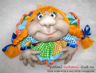 Капроновая кукла своими руками. Фото №1