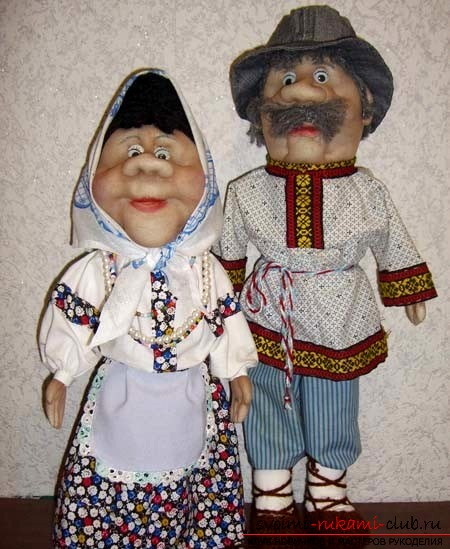 Сделать своими руками куклы из капрона
