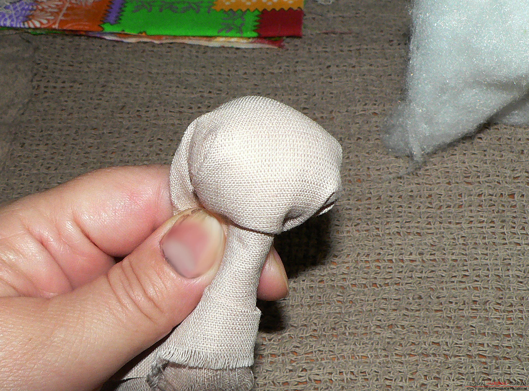 Куклы оберег своими руками из лоскутков ткани