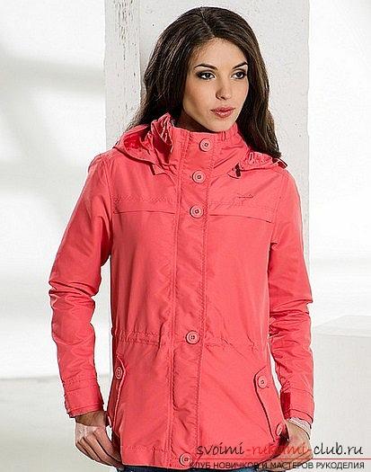 Как сшить самой стильную женскую куртку для весны и осени. Принципы построения выкройки куртки и пошив ее. Фото №1