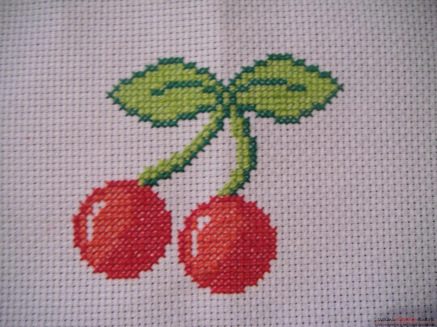 Схемы вышивки простым крестом фото