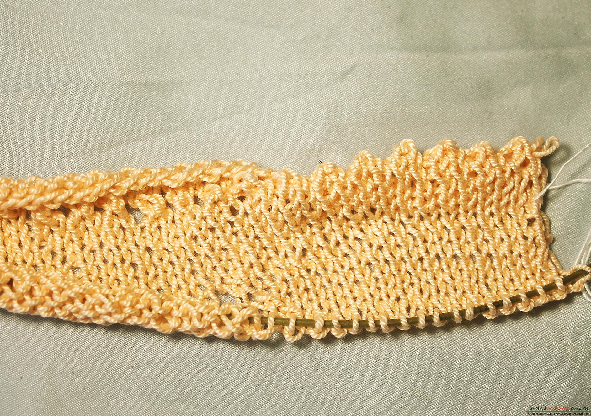 Этот подробный мастер-класс вязания спицами для лета со схемой топа расскажет как связать своими руками летний топик спицами