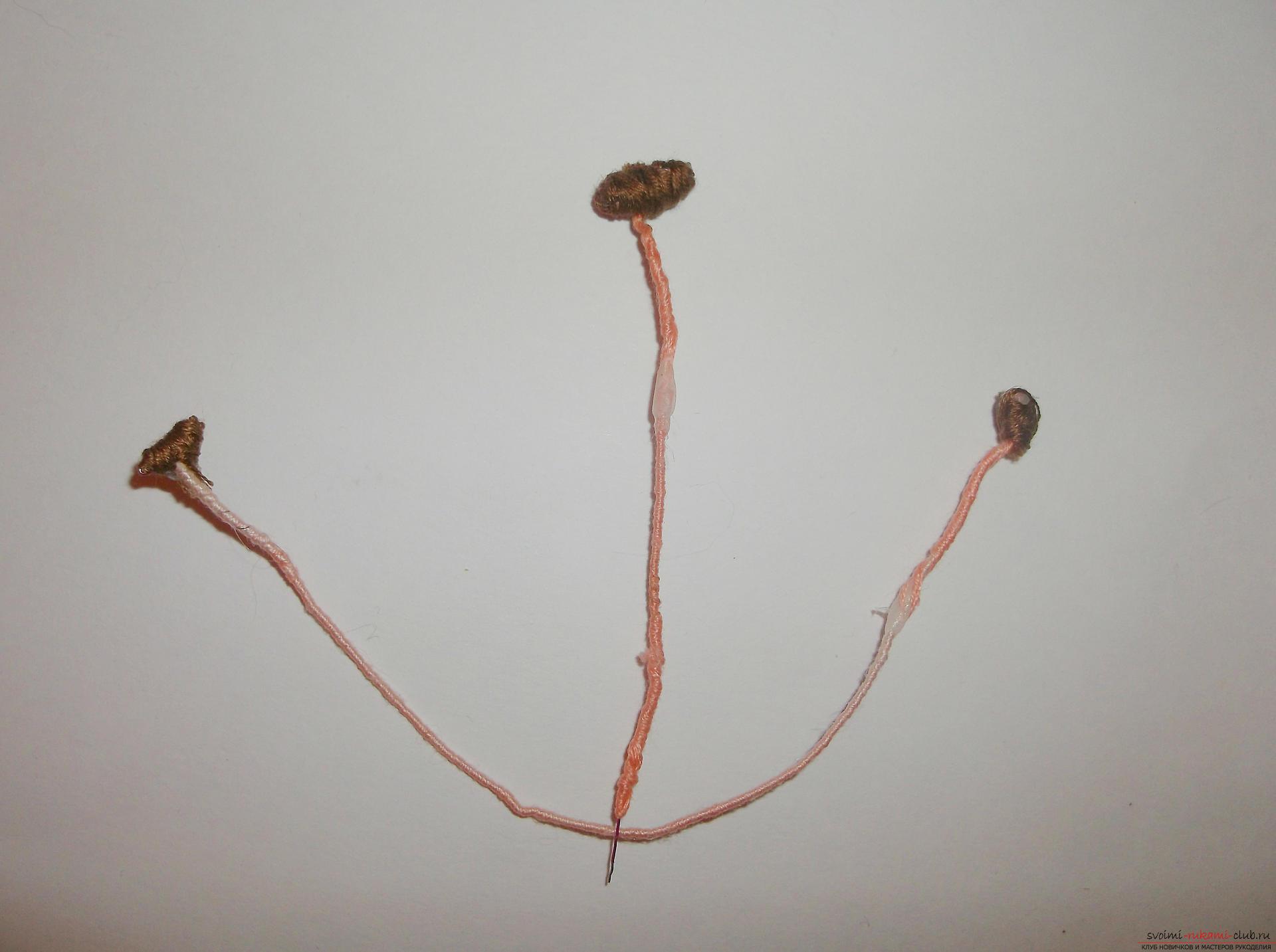 Фото к уроку по вязанию крючком лилии. Фото №8