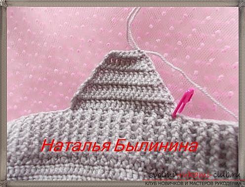 Порядовое описание вязания шапки