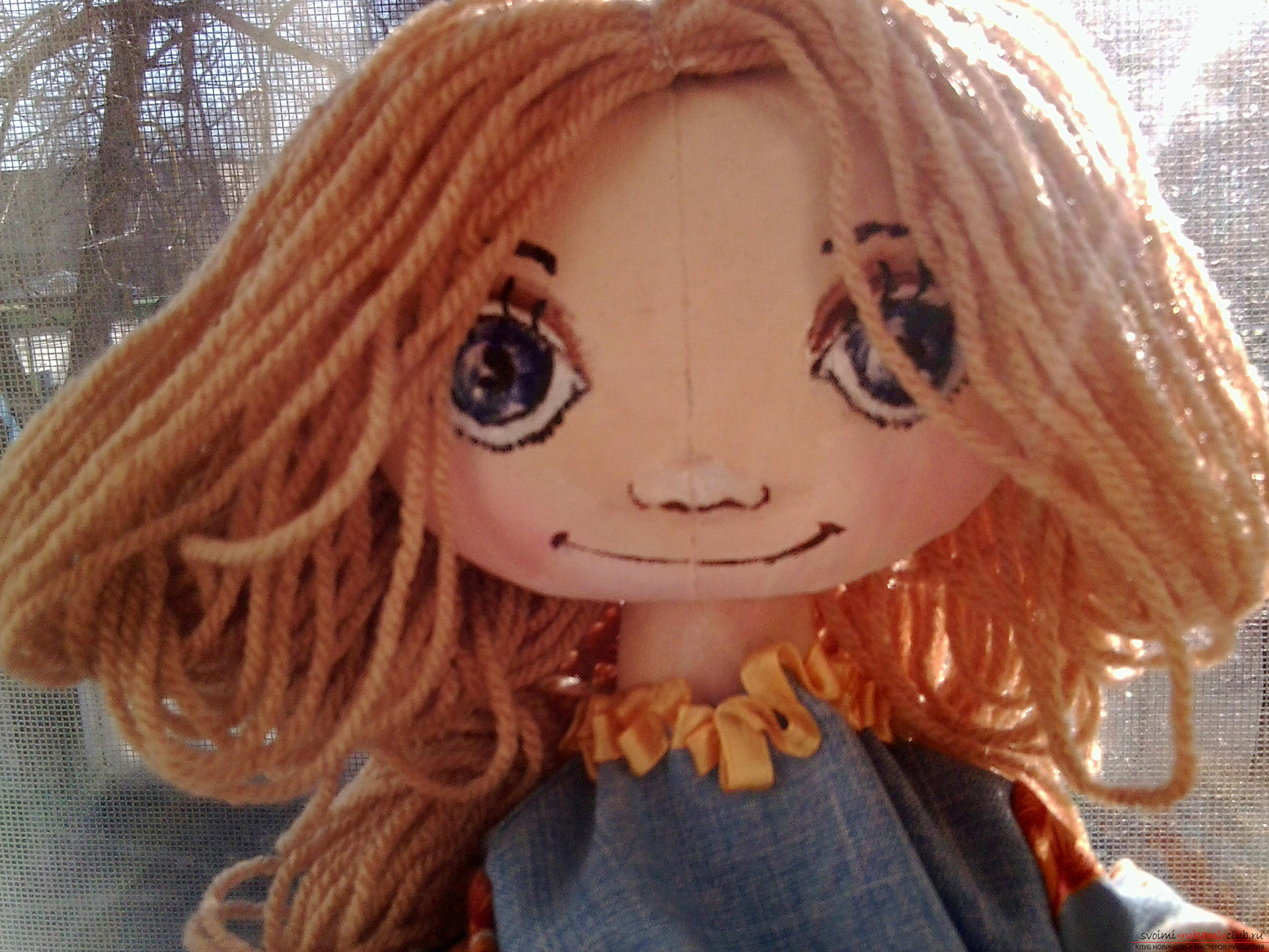 Шьем куклы большеножка мастер класс фото #3