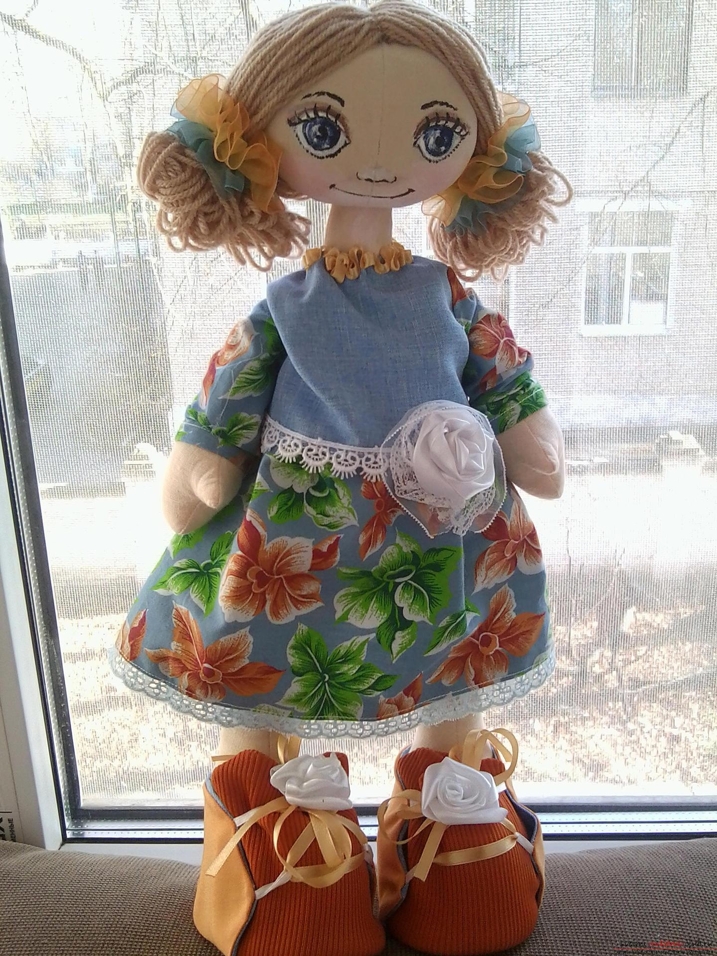 Шьем куклы большеножки мастер класс сделай сам #5