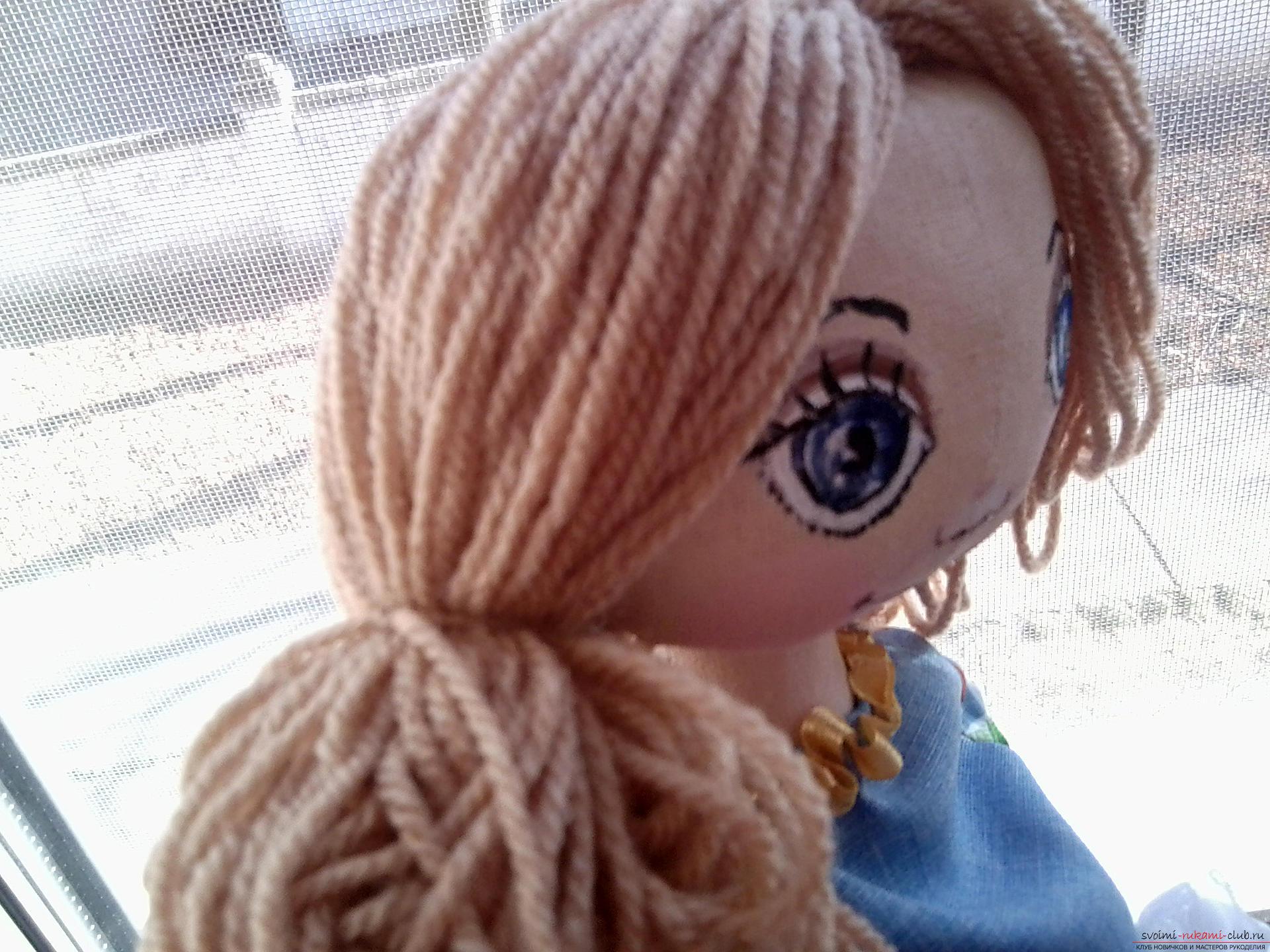 Шьем куклы большеножка мастер класс фото #4