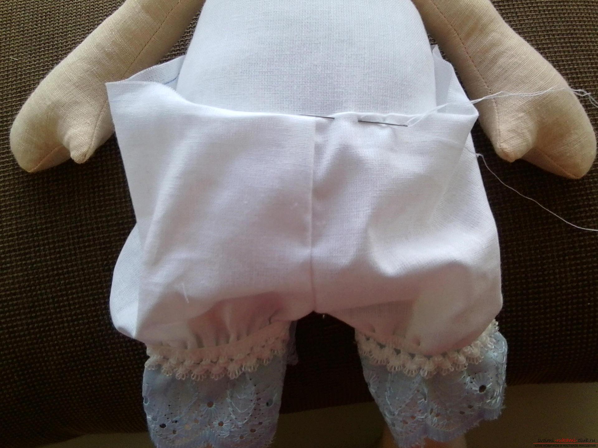 Сшить панталоны как у куклы 738