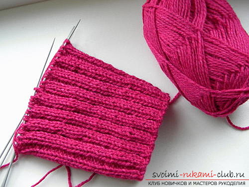 Как связать идеально прилегающий к телу шарф-манишку