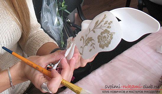 Создаем венецианские маски при помощи техник декупажа своими руками, мастер-класс