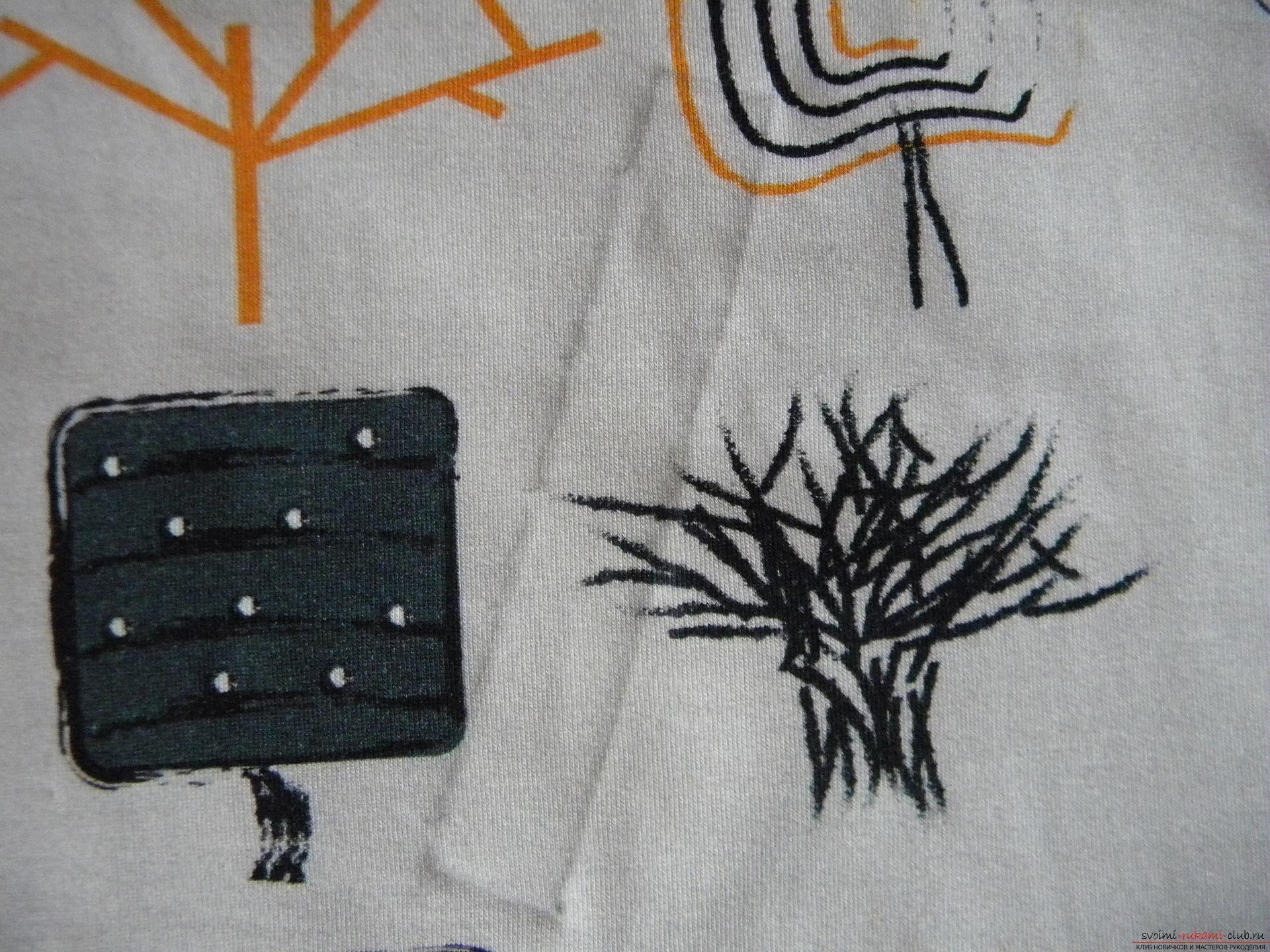 Мастер-класс по шитью научит как производится обработка карманов, делаем карман с листочкой.. Фото №3