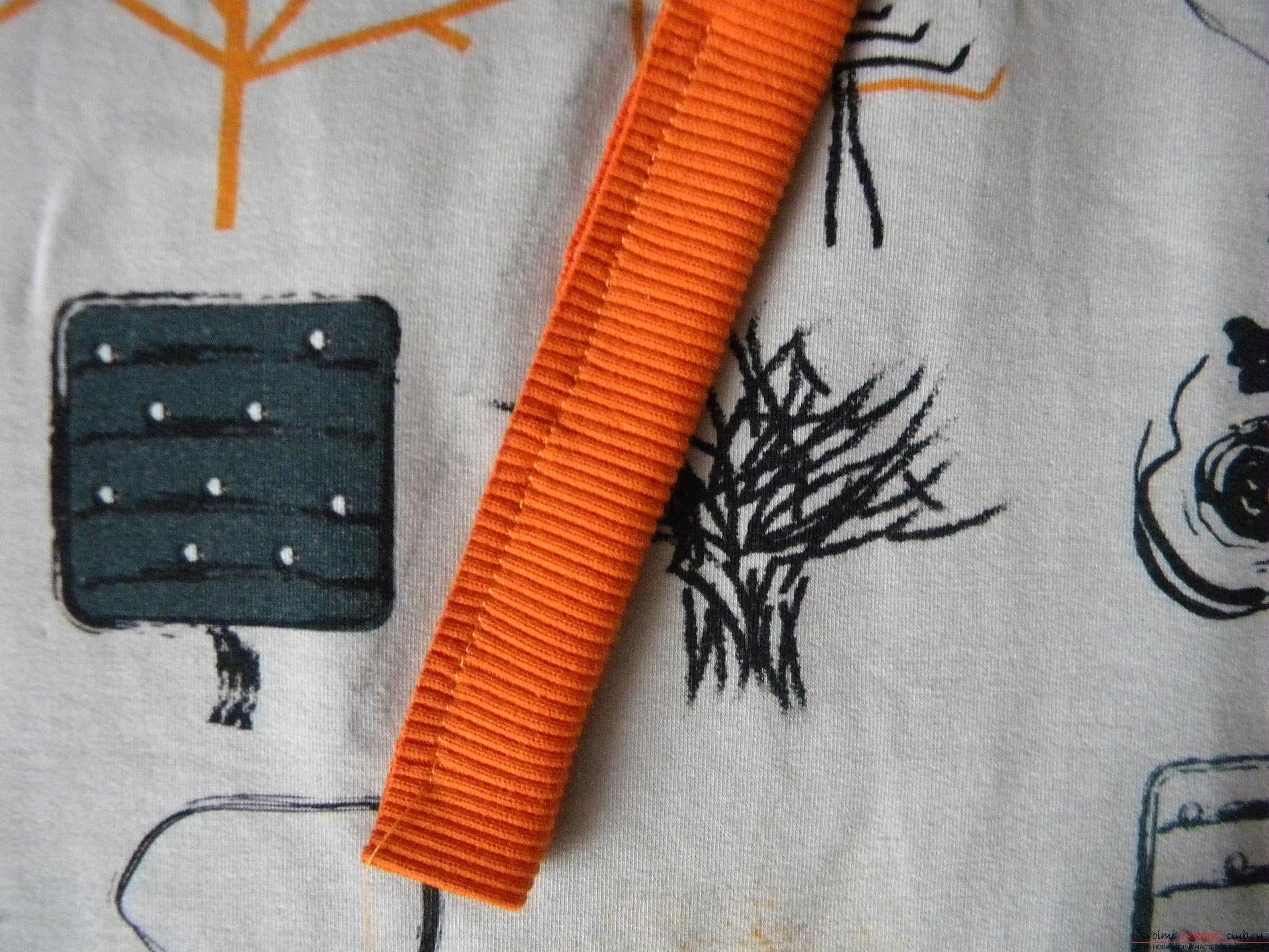 Мастер-класс по шитью научит как производится обработка карманов, делаем карман с листочкой.. Фото №5