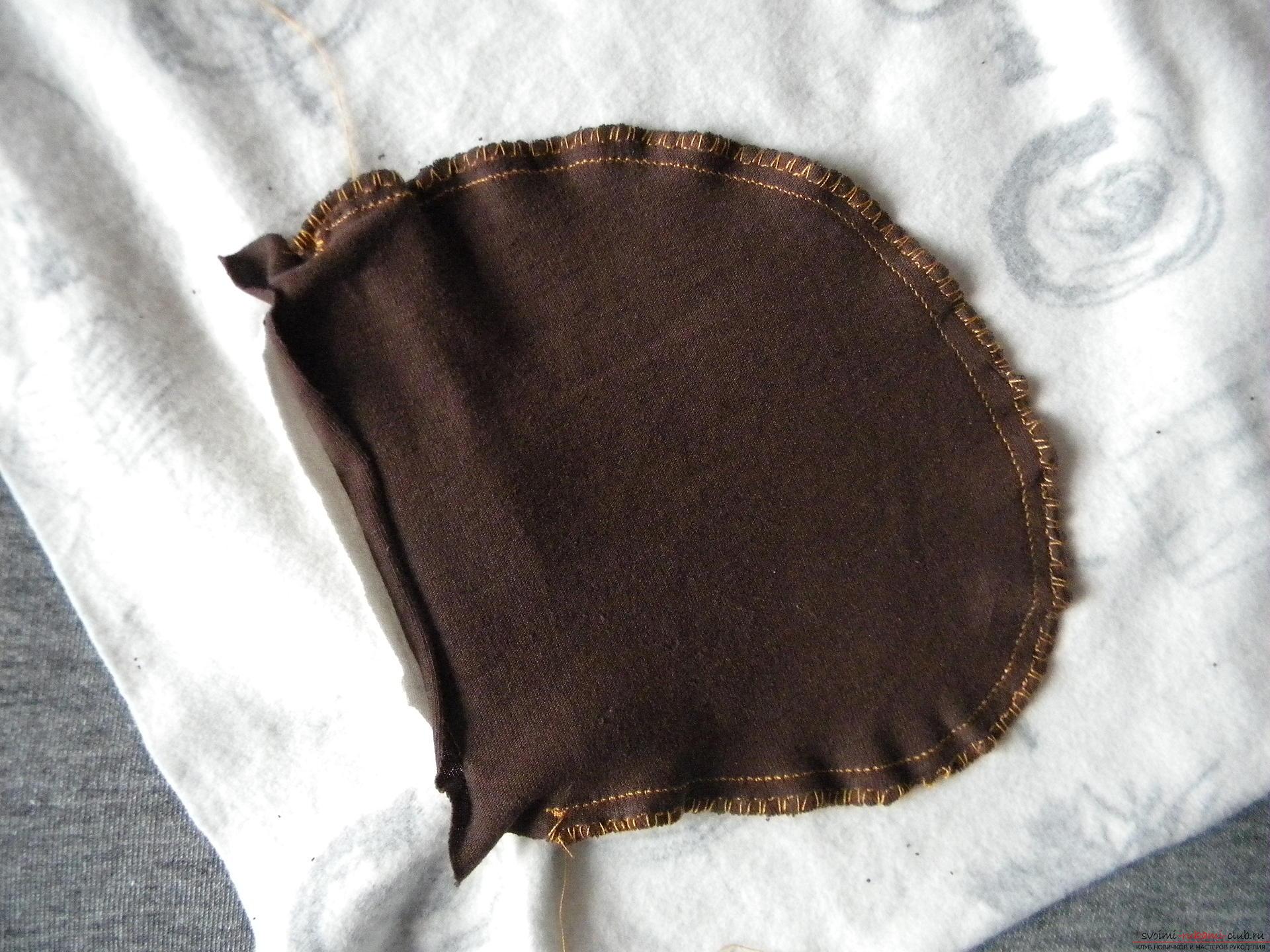 Мастер-класс по шитью научит как производится обработка карманов, делаем карман с листочкой.. Фото №16