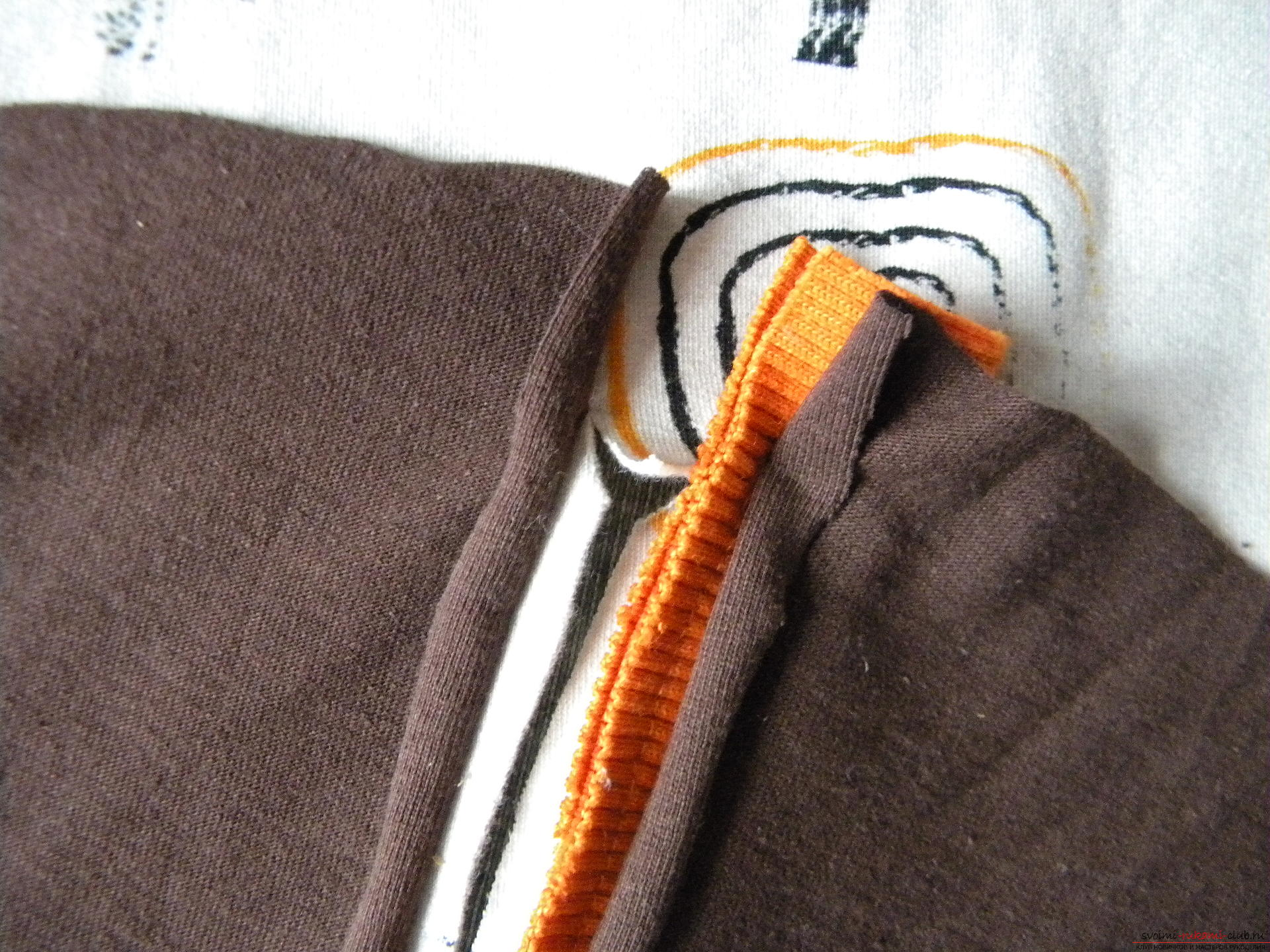 Мастер-класс по шитью научит как производится обработка карманов, делаем карман с листочкой.. Фото №10