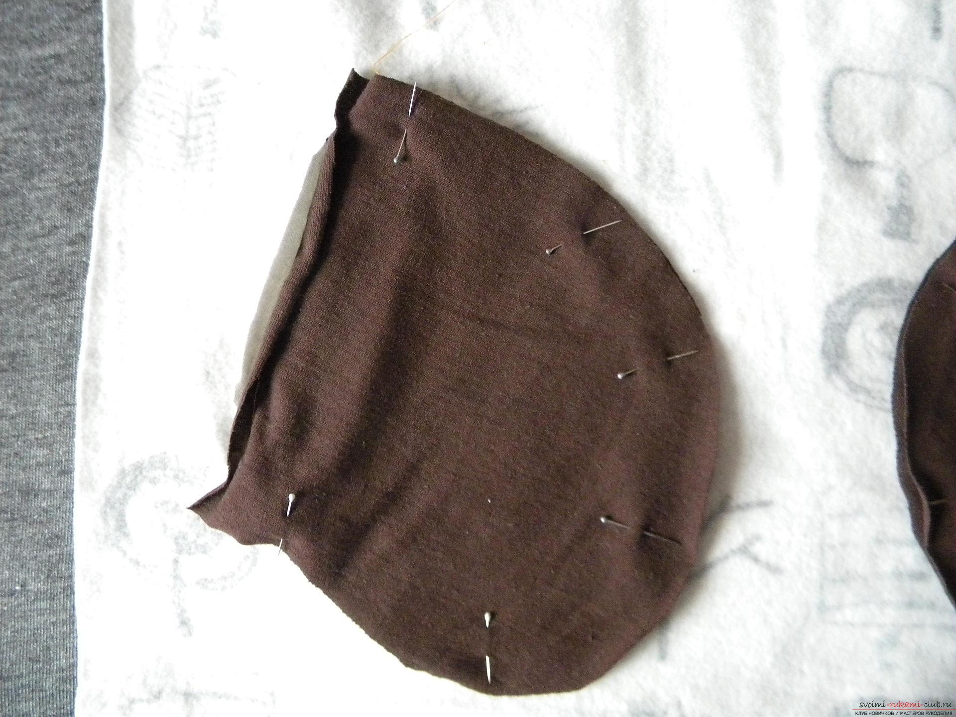 Мастер-класс по шитью научит как производится обработка карманов, делаем карман с листочкой.. Фото №15