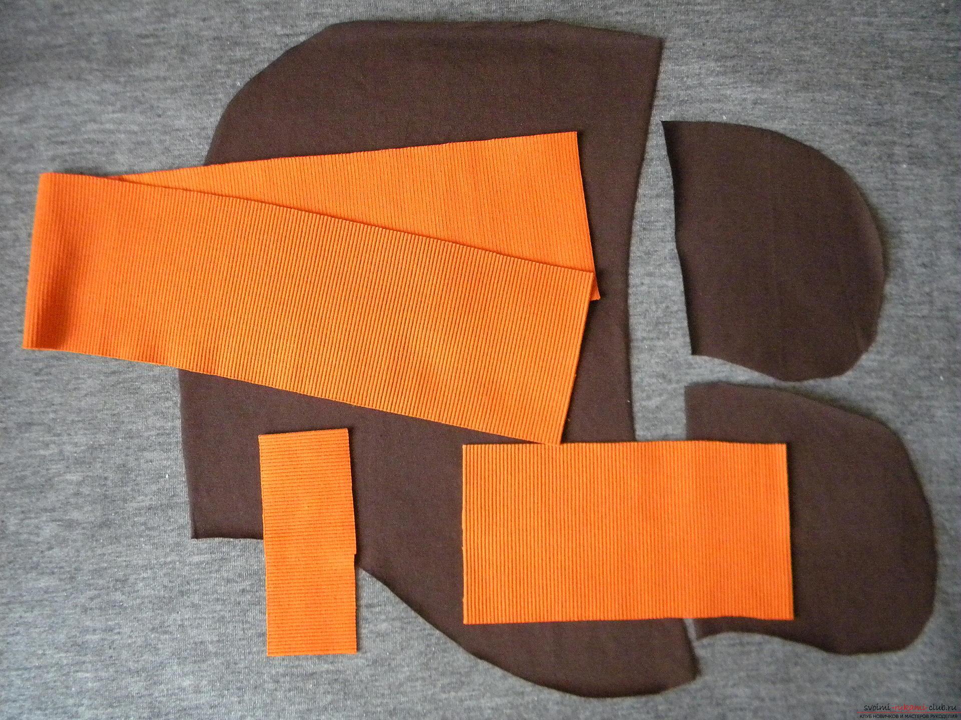Мастер-класс по шитью научит как производится обработка карманов, делаем карман с листочкой.. Фото №2