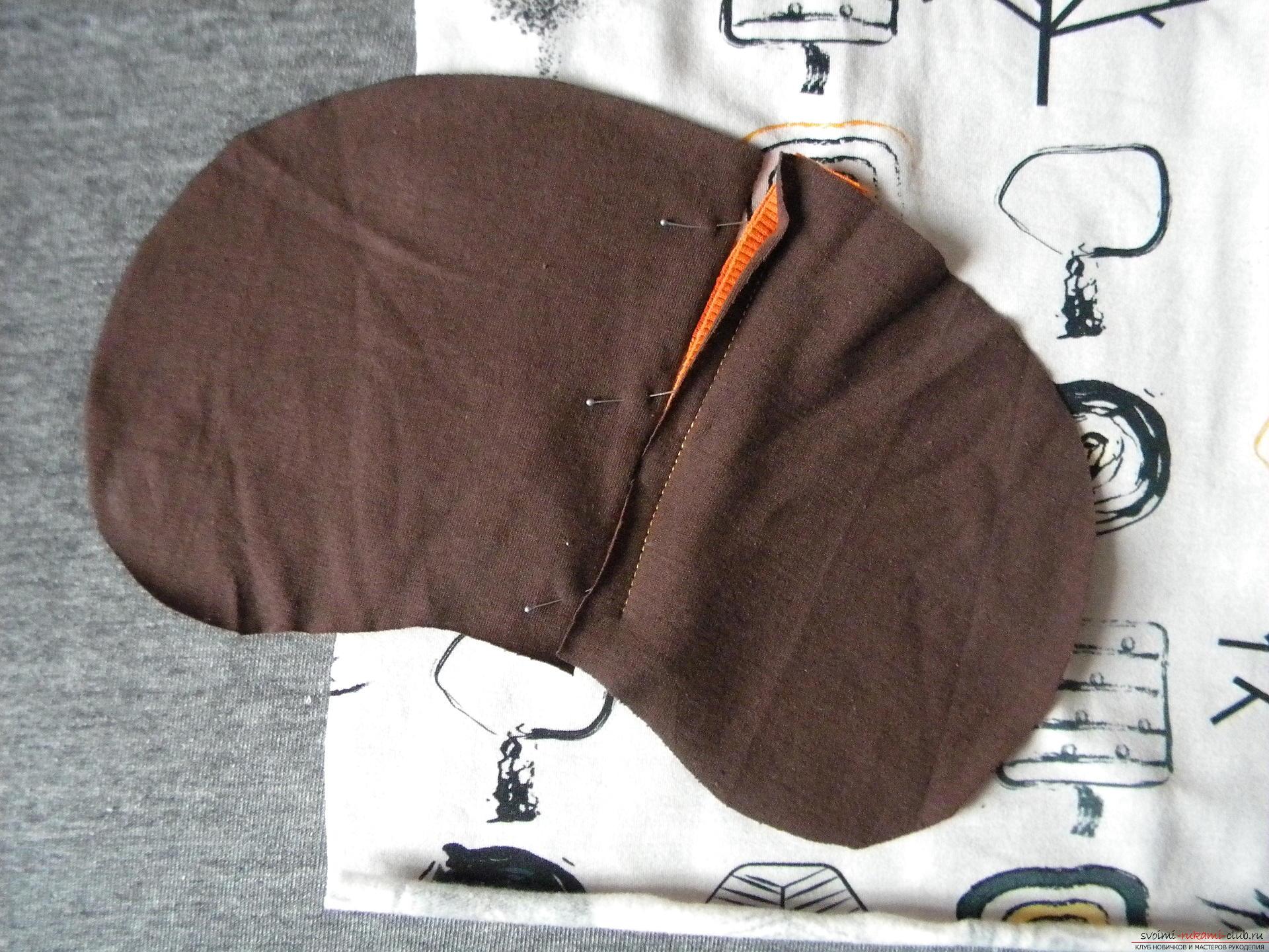 Мастер-класс по шитью научит как производится обработка карманов, делаем карман с листочкой.. Фото №8
