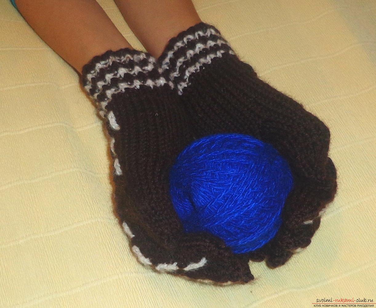 Мастер класс по вязанию перчаток 970